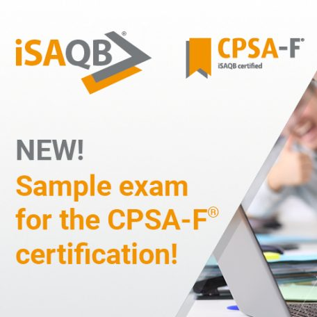 iSAQB News sample exam for CPSA-F certification available