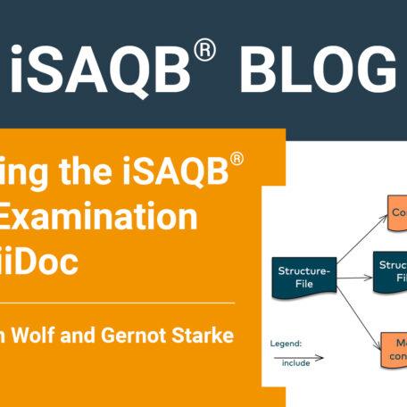 iSAQB-blog Examination to AsciiDoc-cover-website-310321