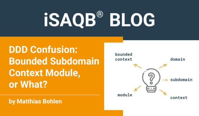 iSAQB Blog DDD Confusion